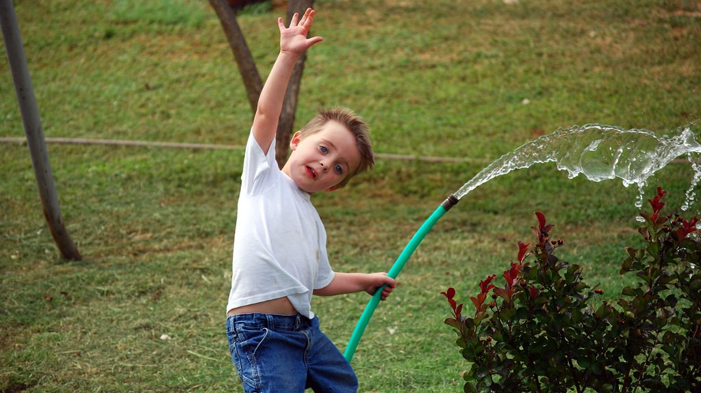 how to water your own lawn 3