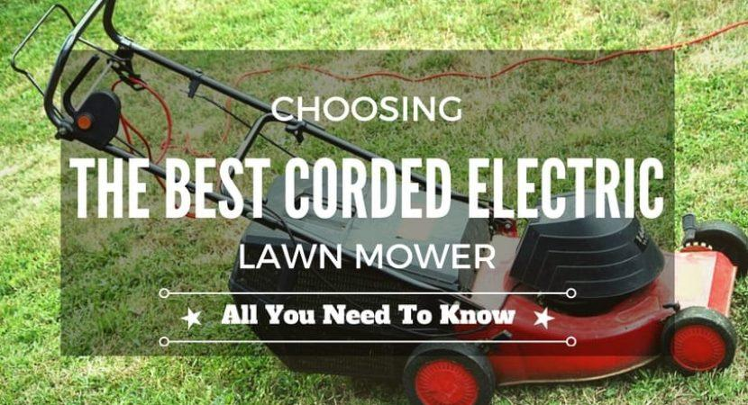 Choosing-the-best-corded-electric-lawn-mower