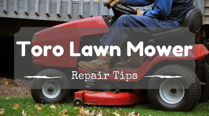 how to fix my lawn mower